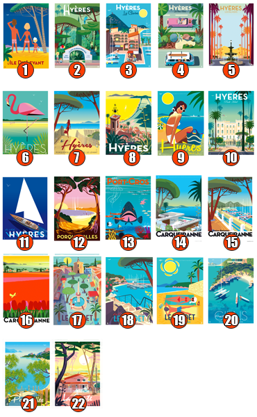 cartes postales mr Z