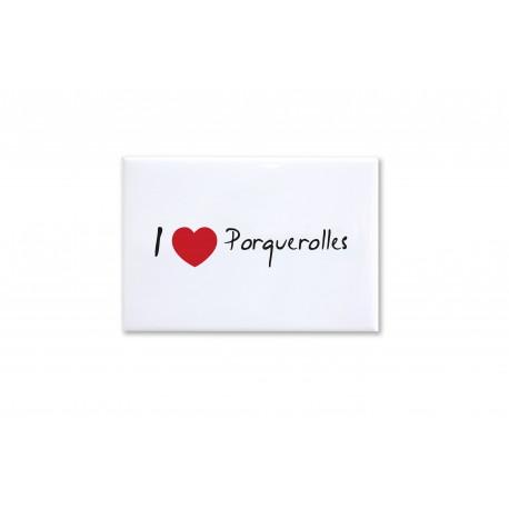 Magnet I Love Porquerolles