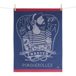 Le marin : torchon Maison Moutet (fabrication française)