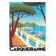 Affiche Monsieur Z (flamant, Porquerolles, Levant, plage, bateau...)